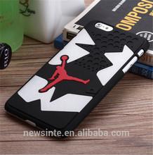 popular jordan cover case for iphone6/6 plus multi color shoe sole shape case protect cool jordan phone case for handsome beauty