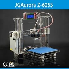 Z-605S 3D printer reprap I3 kit ABS/PLA rapid prototype machine with LCD screen,FDM