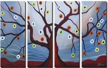 Wall art supply of tree painting canvas