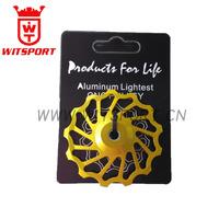 china bicycle groupset jockey wheel/guild wheel/rear derailleurs pulley wheel for shimano&sram 8/9/10/11 speed