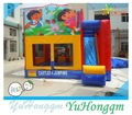 Chine haute qualité personnages de dessins animés dora gonflable bounce maison à vendre enfants jeux de plein air