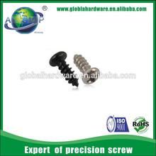Black/white carbon steel zinc plate cross recessed philips pan head screws