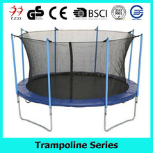 10FT hot sale trampoline floor with safety enclosure