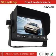 "5"" car computer monitor reviews With U-shaped Bracket"