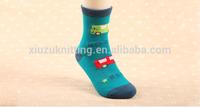 Customed Quality&Comfort Warm Cartoon Crew Sock For Child