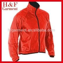 Stylish new style men's windbreaker with stand Rib brim collar jacket