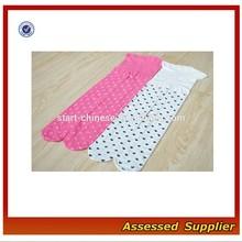 Abbigliamento in cotone organico personalizzati ragazze stampato collant/bambini in cotone collant jacquard mll283