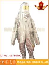 Anti juego de la ropa de protección química