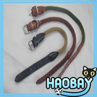 European Quality Handmade Lether and Nylon Dog Leash and Collar