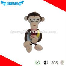 Good quality soft plush big monkey plush monkey