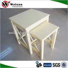 wood nesting tables,3 piece nest of tables ET-09