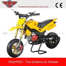 Safe racing 49cc gas powered Pocket Bike for cheap sale(PB007)