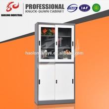 modern sliding glass door for cupboard / steel storage cupboard