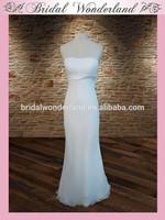 Best ribbon at waist prom tube dress