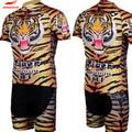 虎のデザイン安いカスタムサイクリングジャージバイクのレース
