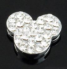 Catoon slider beads for leather bracelet