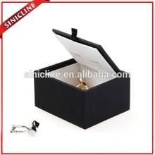 Sinicline 2015 fashion design pandora black small jewelry gift box