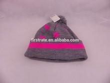 Wholesale slouch beanie men's ski acrylic beanie/knitting beanie hat