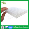 high quality twin wall hollow sheet policarbonate residential building