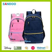 2015 çin yeni polyester yüksek kaliteli renkli toptan okul çantaları ayarlanabilir kayış