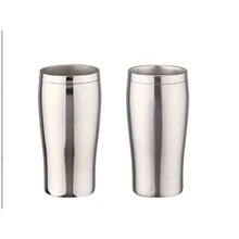 stainless steel wine cup travel mug wide mouth 16oz