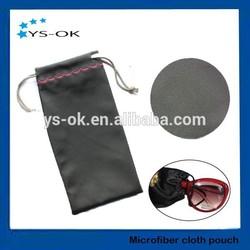 Promotional super soft suede microfiber sunglasses pouch