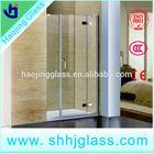 In-door shower glass
