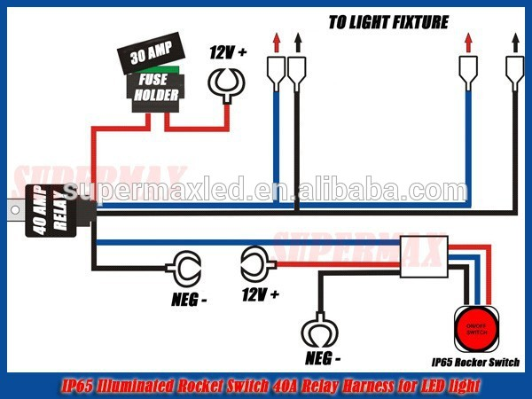 led wiring diagram 12v wirdig jeep led light bar wiring harness relay amp on off switch buy