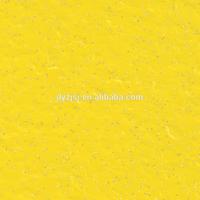 yellow color pvc sparkle vinyl flooring