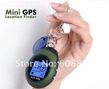 Light Weight Mini GPS Tracker Keychain portable Compass