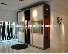 double 2 door bedroom wardrobe with mirror