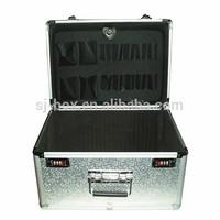 Customized Sliver Aluminum Tool Pocket Board Storage Box