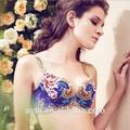 china 2015 novo design quente especial de alta qualidade de impressão phoenix sutiã sexy