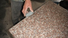 Quality assurance &standard package red granite