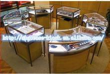 Jewelry display wholesale,glass display cabinets commercial used glass jewelry display cases
