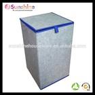 felt collapsible/folding laundry hamper,laundry basket,laundry containe