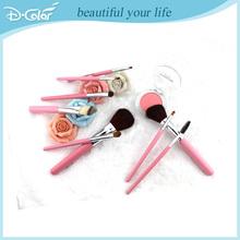 Popular 9pcs PU bag makeup brushes