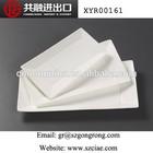 """10""""/12""""/14""""bone china dinner Rectangular plate"""