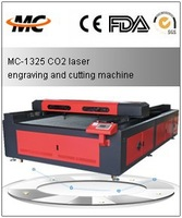 CO2 Die board laser cutting machine for polywood and FDM on sale MC1325