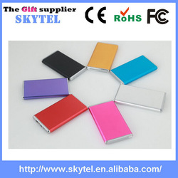 ultra slim rohs ce fcc certificate portable power bank 5600mah,6000mah back up charger