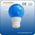 0.5w b22 lampadina led di colore fabbrica di xiamen