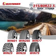 truck tire 315/80R22.5 Michelin Hankook technology