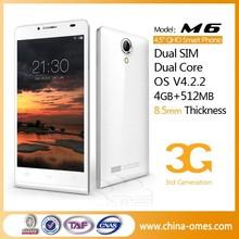 MT6572 Dual-Core GPS Dual SIM Cheap Telefonos Celulares Android