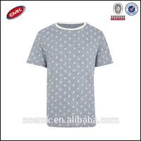 blue paisley printed t shirt mens full hand t shirts design