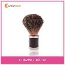 Newest Hot sale mens' gift shaving brush kit badger hair knots
