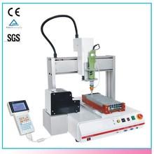 Desktop Automatic 3 Axis Liquid Robotic Glue Dispenser For Electronics