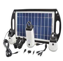 Portable Solar Power Systerm Kits/camping kits flashing solar road warning light