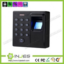 2014 Cheap 2000 card capacity B&W LCD screen outdoor security door access controller with multi verification mode