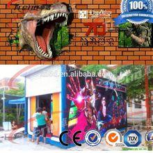 Amusement park 5d motion cinema 6d cinema system
