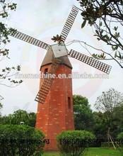 10 m / 20 m Netherland metal / madeira moinho de vento